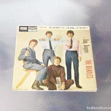 Discos de vinilo: THE BEATLES -DAY TRIPPER ----ORIGINAL 1966 1ª EDICION ESPAÑA - DSOE 16.685 ---- LABEL AZUL FUERTE. Lote 169671460