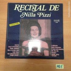 Discos de vinil: RECITAL DE NILLA PIZZI. Lote 187545965