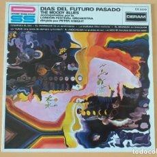 Discos de vinilo: MOODY BLUES - DIAS DEL FUTURO PASADO (LP). Lote 187555502