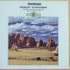 Discos de vinilo: DVORAK SINFONIA Nº 9 DEL NUEVO MUNDO. PHILHARMONIA HUNGARICA. Lote 187555518