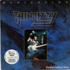 Discos de vinilo: THIN LIZZY – DEDICATION - COLD SWEAT 1991- UK & EEC SINGLE VERTIGO. Lote 187562380