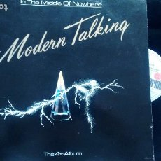 Discos de vinilo: LP ( VINILO) DE MODERN TALKING AÑOS 80. Lote 187562410