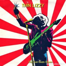 Discos de vinilo: THIN LIZZY – THE SUN GOES DOWN - BABY PLEASE DON'T GO 1983-UK SINGLE VERTIGO. Lote 187562485