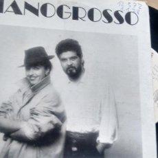 Discos de vinilo: SINGLE (VINILO)-PROMOCION- DE PIANOGROSSO AÑOS 80. Lote 187562612