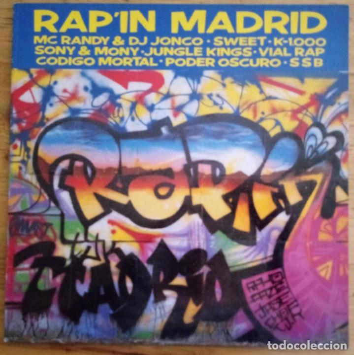 J - RAP IN MADRID - HEY PIJO - KALANDRAKAS (Música - Discos - LP Vinilo - Rap / Hip Hop)