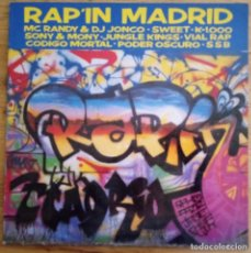 Discos de vinilo: J - RAP IN MADRID - HEY PIJO - KALANDRAKAS. Lote 187563827