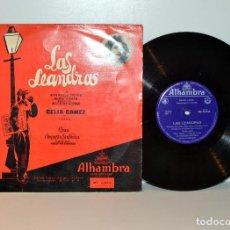 Discos de vinilo: CELIA GÁMEZ - LAS LEANDRAS - 10 PULGADAS ALHAMBRA MC25022 ESPAÑA 1962 G+/G+ . Lote 187573043
