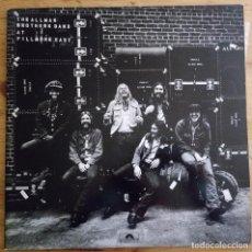 Discos de vinilo: J - THE ALLMAN BROTHER - AT FILLMORE EAST - DOBLE LP. Lote 187578157