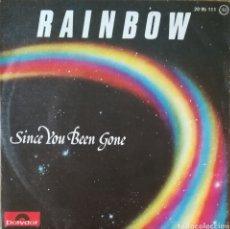 Discos de vinilo: DISCO RAINBOW. Lote 187583396