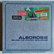 Discos de vinilo: ALBOROSIE - '' SOUND THE SYSTEM SHOWCASE '' 5 VINYL 10'' BOX SET UK 2014 SEALED. Lote 187584265