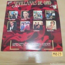 Discos de vinilo: SEVILLANAS DE ORO. Lote 187584401