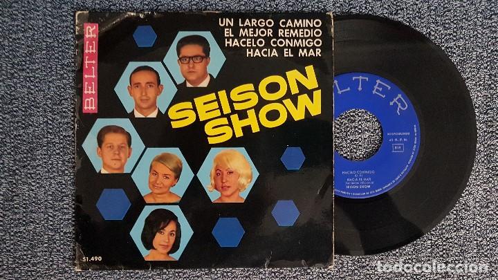 SEISON SHOW - UN LARGO CAMINO .EP (4 CANCIONES) AÑO 1.965. EDITADO POR BELTER (Música - Discos de Vinilo - EPs - Grupos Españoles 50 y 60)