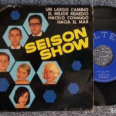 Discos de vinilo: SEISON SHOW - UN LARGO CAMINO .EP (4 CANCIONES) AÑO 1.965. EDITADO POR BELTER. Lote 187592532