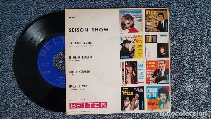 Discos de vinilo: Seison Show - Un largo camino .EP (4 canciones) año 1.965. editado por Belter - Foto 2 - 187592532