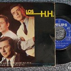Discos de vinilo: LOS HH - AQUEL AMANECER DE MAYO. EP+ 3 CANCIONES. AÑO 1.966. EDITADO POR PHILIPS.. Lote 187606188