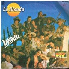 Discos de vinilo: LA BIONDA - BANDIDO / THERE IS NO OTHER WAY - SINGLE 1979 - PROMO COLA CAO. Lote 187606496