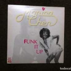 Discos de vinilo: MONICA CHEN. FUNK IT UP. 1983, ESPAÑA (MAXI SINGLE). Lote 187609556
