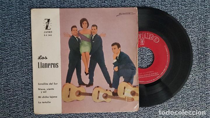 LOS LLANEROS. EP. ESTRELLITA DEL SUR + 3 CANCIONES. AÑO 1.961EDITADO POR ZAFIRO. (Música - Discos de Vinilo - EPs - Solistas Españoles de los 50 y 60)