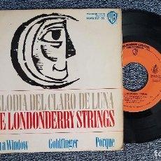 Discos de vinilo: THE LONDONBERRY STRINGS. EP. MELODIA DEL CLARO DE LUNA + 3 CANCIONES. AÑO 1.965. EDITADO HISPAVOX . Lote 187611657