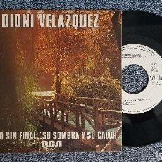 Discos de vinilo: DIONI VELAZQUEZ . SINGLE. OTOÑO SIN FINAL. AÑO 1.979. DISCO PROMOCIONAL. EDITADO POR RCA. MUY RARO. Lote 187612248
