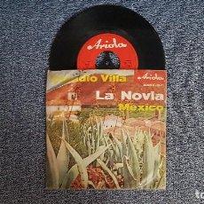 Discos de vinilo: CLAUDIO VILLA. SINGLE. LA NOVIA. EDITADO EN ALEMANIA. AÑO 1.960. Lote 187613515
