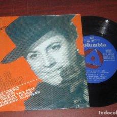 Discos de vinilo: SINGLE - NIÑA ANTEQUERA - YO TE AÑORO + 3- VER DETALLES. Lote 187613930