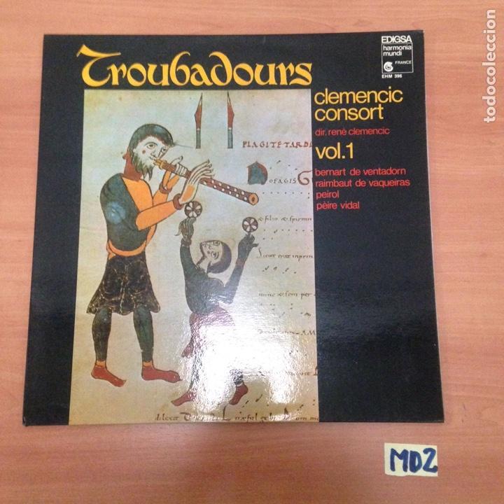 CROUBADOURS VOL.1 (Música - Discos - LP Vinilo - Otros estilos)