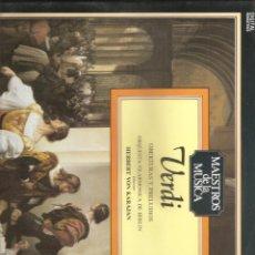 Discos de vinilo: 243. VERDI. OBERTURAS Y PRELUDIOS. Lote 187615986