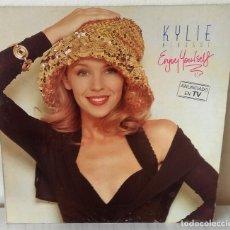 Disques de vinyle: KYLIE MINOGUE - ENJOY YOURSELF SANNI - 1989. Lote 187616382