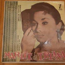 Discos de vinilo: MARIFE DE TRIANA. EP. ALONDRA DEL CIELO. ECJALE LA RED. TORITO DEL SESENGAÑO. CALANDRIA. CALANDRIA.. Lote 187622711