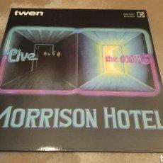 Discos de vinilo: THE DOORS. MORRISON HOTEL LIVE. TWEN - LP NUEVO PORTADA ABIERTA. Lote 187632706