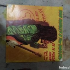 Discos de vinilo: BOB MARLEY COULD YOU BE LOVED + ONE DROP. Lote 187635036