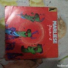 Discos de vinilo: FISCHER Z MARLIESE. Lote 187635406