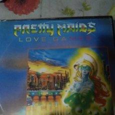 Discos de vinilo: PRETTY MAIDS LOVE GAMES 3 TEMAS. Lote 187635617