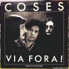 Discos de vinil: COSES - VIA FORA! LP MOVIEPLAY 1976. Lote 187637710