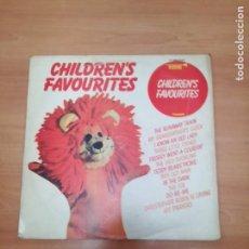 Discos de vinilo: CHILDREN'S FAVOURITES. Lote 187650981