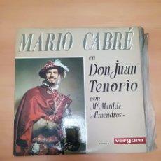 Discos de vinil: MARIO CABRÉ. Lote 187651275