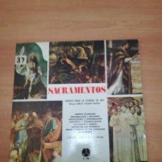 Discos de vinil: SACRAMENTOS. Lote 187651435