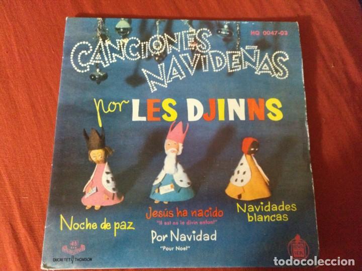 CANCIONES NAVIDEÑAS POR LES DJINNS (Música - Discos - Singles Vinilo - Otros estilos)