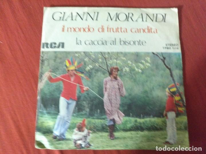 GIANNI MORANDI IL MONDO DI FRUTTA CANDITA (Música - Discos - Singles Vinilo - Otros estilos)