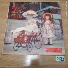 Discos de vinilo: MUSIC FOR LITLE FOLKS. Lote 187654461