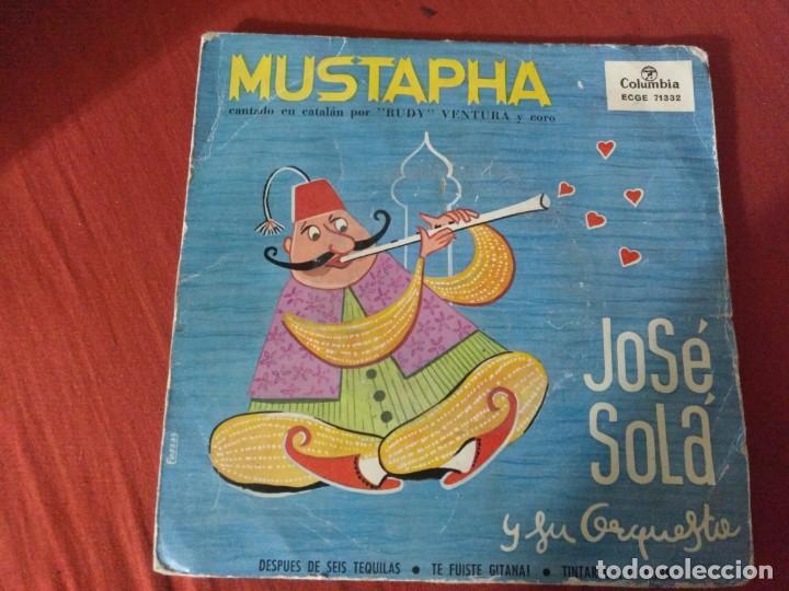 JOSE SOLA Y SU ORQUESTA MUSTAFÁ CATALA (Música - Discos - Singles Vinilo - Otros estilos)