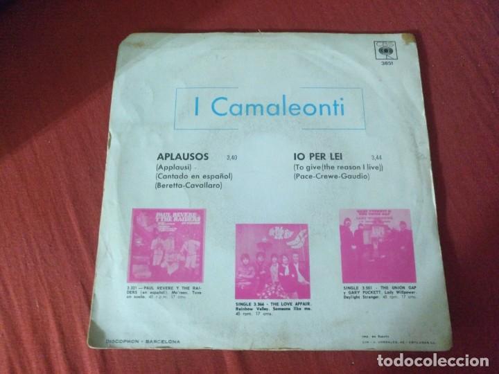 Discos de vinilo: CAMALEONTI APLAUSOS - Foto 2 - 187655295