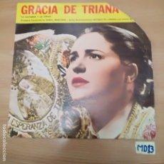 Discos de vinil: GRACIA DE TRIANA. Lote 187655308