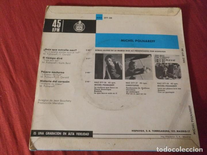 Discos de vinilo: MICHEL POLNAREFF BAJO QUE ESTRELLA NACI - Foto 2 - 187656403
