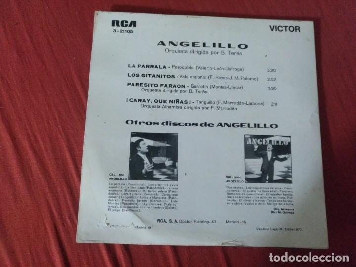Discos de vinilo: ANGELILLO LA PARRALA - Foto 2 - 187656872