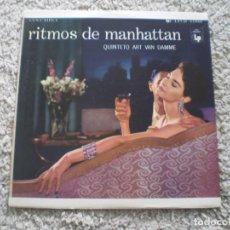 Discos de vinilo: LP. ART VAN DAMME QUINTET. RITMOS DE MANHATTAN. AÑOS 60. BUENA CONSERVA. CON CINTA BLANCA EN BORDES. Lote 187728283