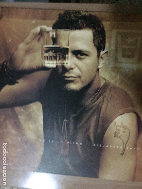 ALEJANDRO SANZ. NO ES LO MISMO (VINILO LP 2003) (Música - Discos de Vinilo - Maxi Singles - Solistas Españoles de los 70 a la actualidad)