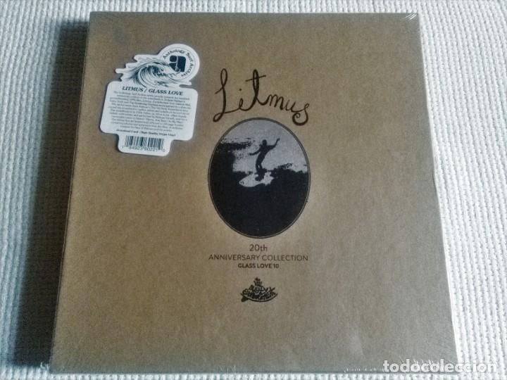 VARIOUS / ANDREW KIDMAN - '' 20 LITMUS / GLASS LOVE 10 '' 2 LP + BOOK 2015 BOX (Música - Discos - LP Vinilo - Pop - Rock Extranjero de los 90 a la actualidad)