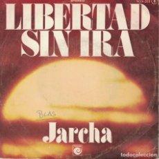 Dischi in vinile: JARCHA - LIBERTAD SIN IRA / POLUCION (SINGLE ESPAÑOL, NOVOLA 1976). Lote 187825100